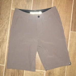 Boys grey dry fit shorts